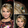 Pictures of Dianna Agron&#039;s Hair and Headband at the Nylon Magazine January Launch Party
