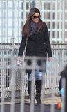 Sandra Bullock at a NYC playground.