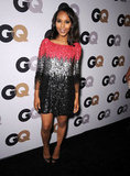 Kerry Washington plays with both sparkle and color in a multihued Prabal Gurung mini, the kind that would dazzle at any holiday party.