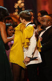 Malia Obama and Justin Bieber hug it out.