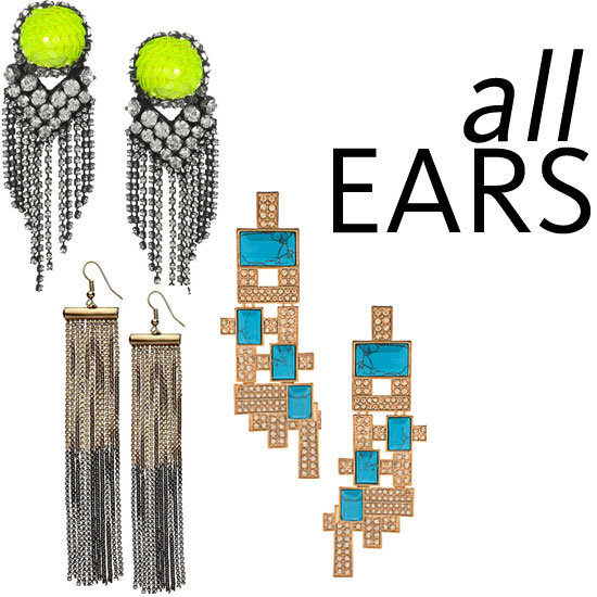 Five of the Best: Statement Earrings to Shop Now!