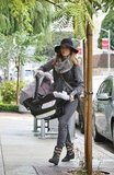 Jessica Alba shopping with Haven Warren in LA.