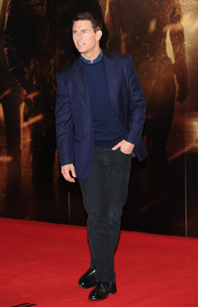 Tom hit the red carpet solo for his latest Mission Impossible — Ghost Protocol screening.