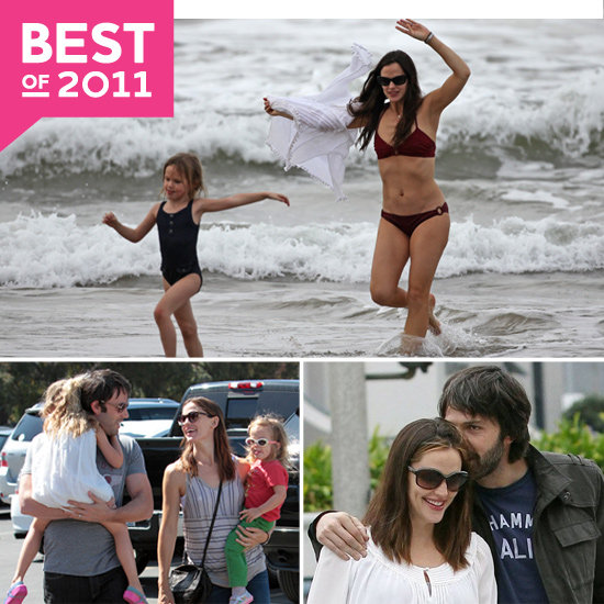 See the Garner-Afflecks' Happiest Moments of 2011!