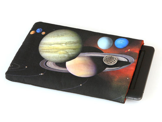 Solar System padded device cover ($25)