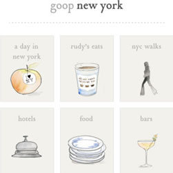 Goop Gwyneth Paltrow iPhone App