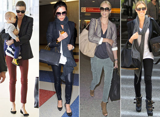 Best Celebrity Airport Style 2011 Popsugar Fashion