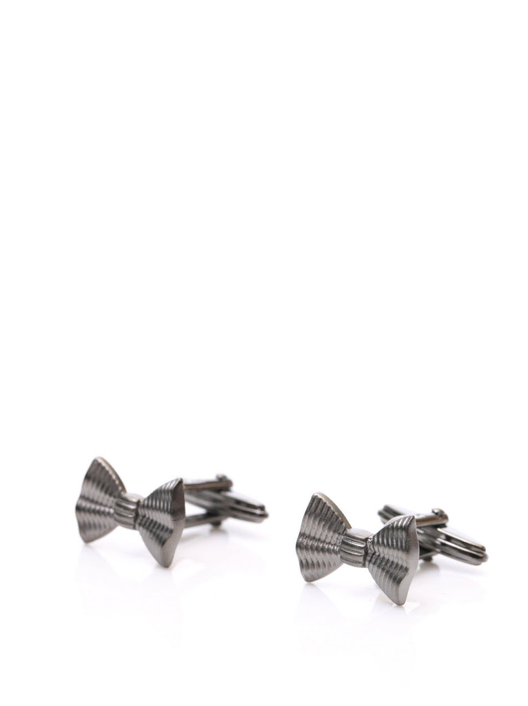 """My boyfriend loves a black-tie affair, so I'm gifting him these chic Lanvin bow tie cufflinks. They marry two of his favorite accessories (cufflinks and bow ties) and have the added draw of coming from one of my favorite designers, Alber Elbaz."" — Liza Kaplan, FabSugar associate producer  Lanvin Bow Tie Cuff Links ($162)"