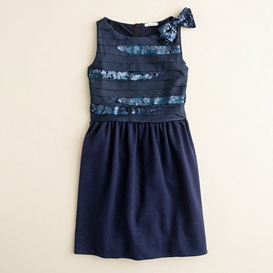 J.Crew Sequin Slice Dress ($78)