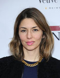Sofia Coppola went with a simple chain necklace at the premiere of The Iron Lady.