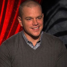 Matt Damon We Bought a Zoo Video Interview