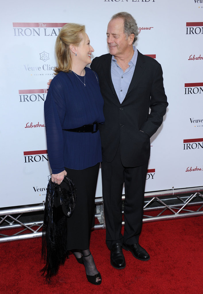 Meryl Streep and Don Gummer shared an adorable moment at the NYC premiere of The Iron Lady.