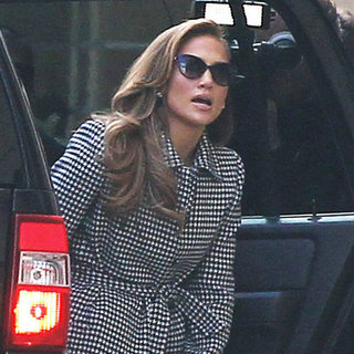Jennifer Lopez Arriving at Hollywood Week Auditions Pictures