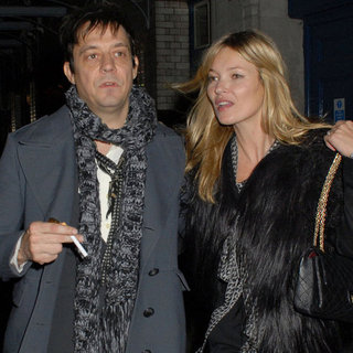 Kate Moss and Jamie Hince at J Sheekey Restaurant Pictures