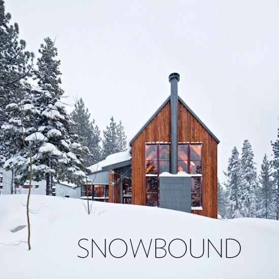 Tahoe Ski Cabin Modern Architecture Photos
