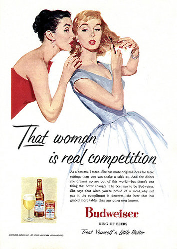 Cheers! Vintage Beer Ads For Women