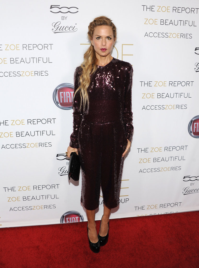 Rachel Zoe appeared at the launch party for the Zoe Media Group.