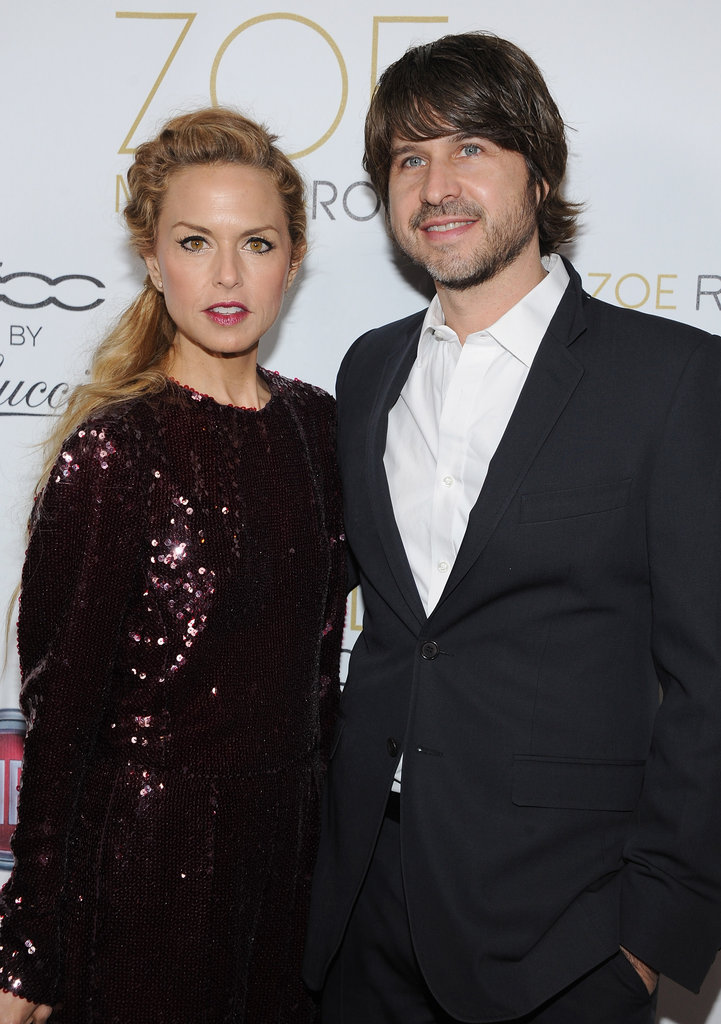 Rachel Zoe and Rodger Berman partied together at LA's Sayers Club.
