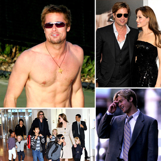 Brad Pitt Is Engaged — See His Hotness Over the Years!