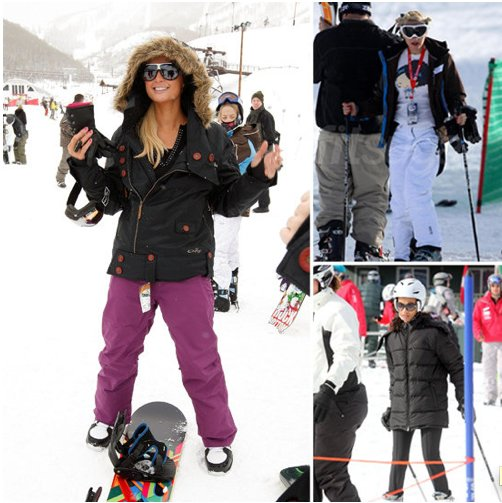 Hit the Slopes With These Celebrity Snow Bunnies