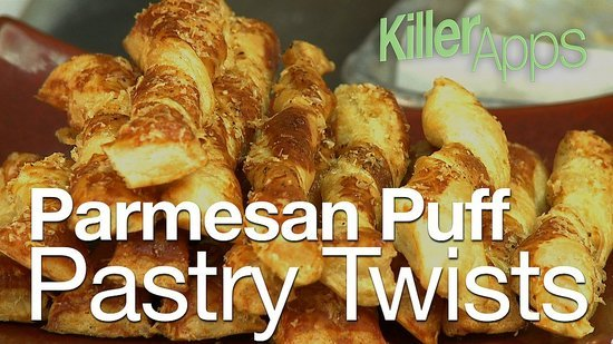 Make Elegant Parmesan Twists in Under 15 Minutes
