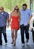 Britney looked hot while out in LA alongside Jason in June 2010.
