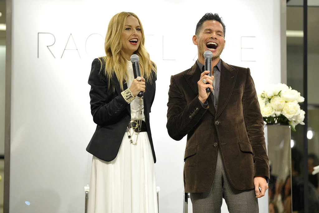 Rachel Zoe gave an introduction to her Spring 2012 collection.