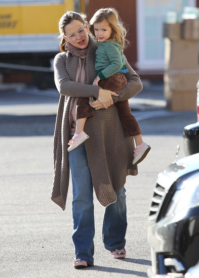 Jennifer Garner Takes a Holiday Break With Seraphina