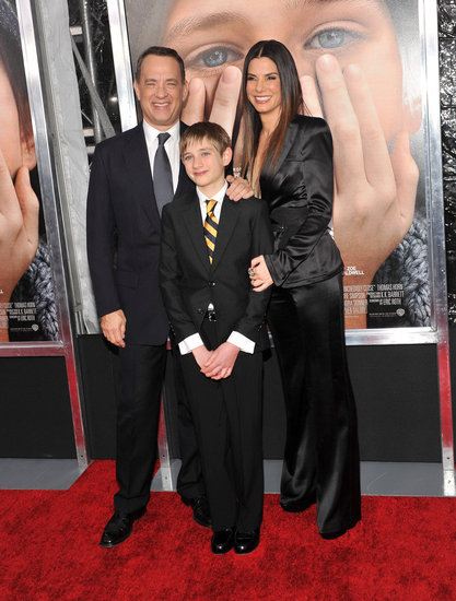 Sandra Bullock Goes Sleek and Shiny For Her Premiere With Tom Hanks