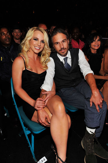 Jason put a protective arm around Britney at the Billboard Music Awards in May 2011.