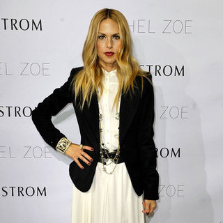 Rachel Zoe in White Maxi at Nordstrom Pictures