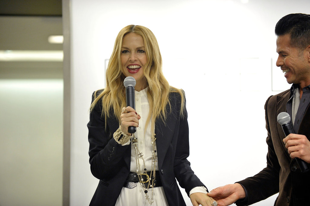 Rachel Zoe couldn't stop smiling in San Diego.