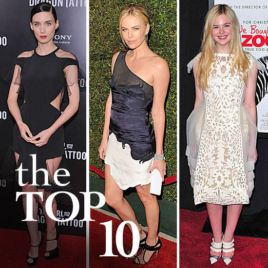 Fab's Top 10 Celebrity Looks of the Week — Charlize, Rooney, Elle, and More!