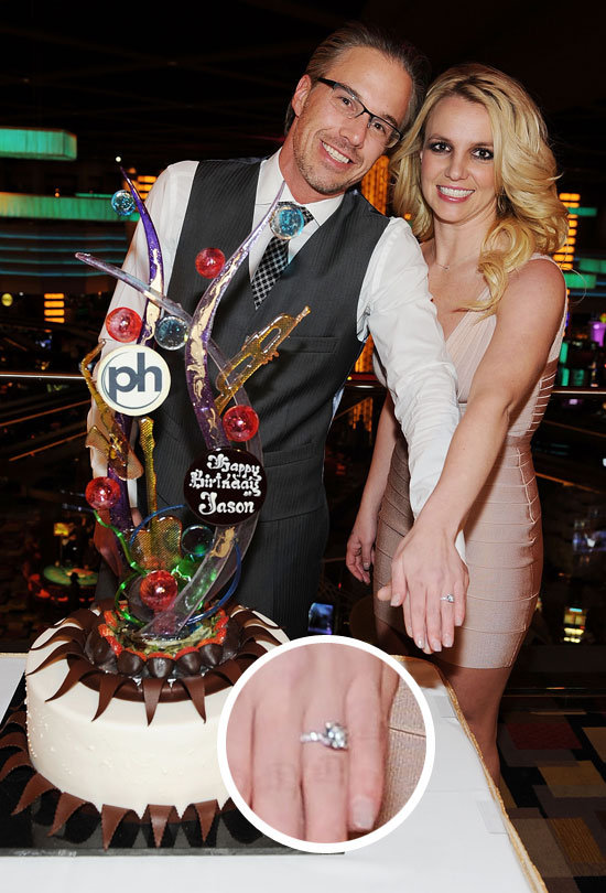 See the First Photos of Britney Spears's Engagement Ring!