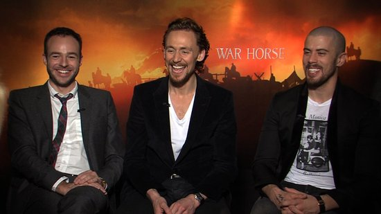 How War Horse's Tom Hiddleston, Toby Kebbell, and Patrick Kennedy Celebrated Nabbing Spielberg Roles