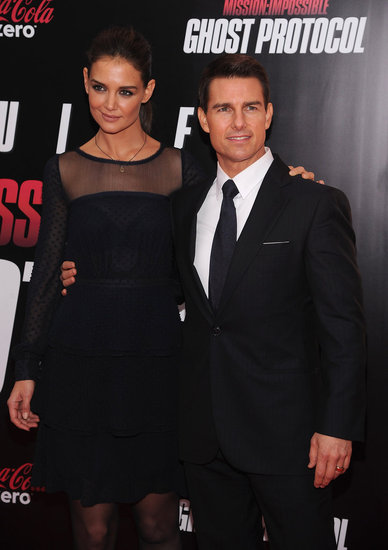 Tom Cruise Has Katie Holmes by His Side For a Sexy MI4 NYC Premiere