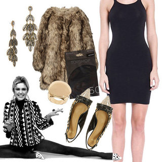 New Year's Eve Outfit Inspired by Edie Sedgwick