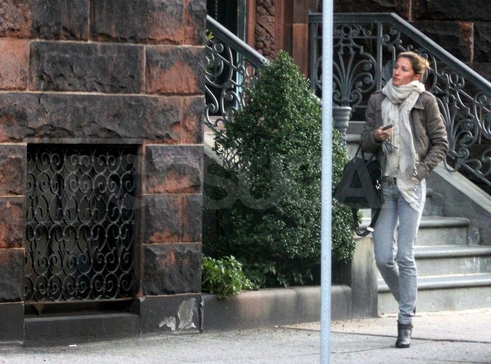 Gisele Bundchen out in Boston.