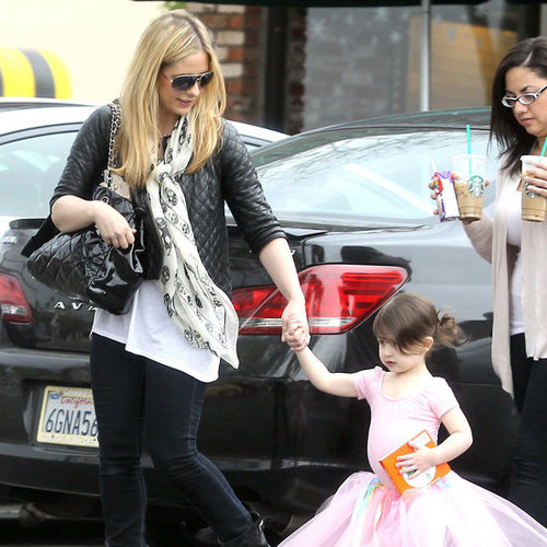 Sarah Michelle Gellar and Charlotte Prinze Ballet Pictures