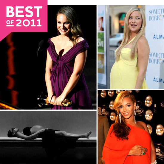 Look Back at the Many Pregnant Celebrities of 2011