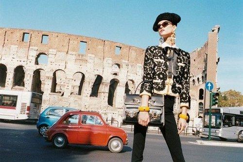Moschino Spring 2012 Ad Campaign