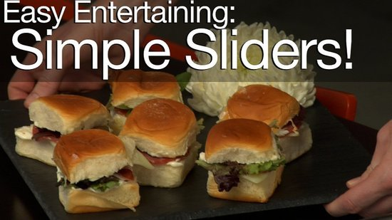 Easy Entertaining Recipe: Simple and Satisfying Sliders