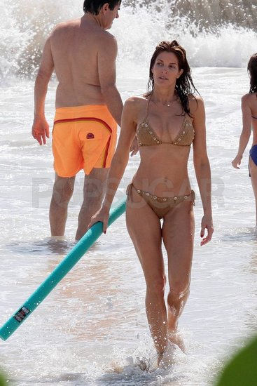 Stephanie Seymour Upholds Her St. Barts Bikini Tradition