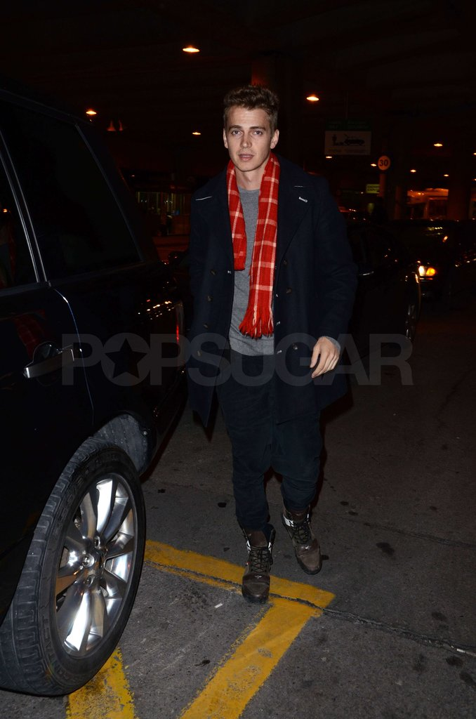Hayden Christensen Is All Smiles as He Picks Rachel Bilson Up From the Airport