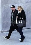 Nicole Richie and Joel Madden shopped together in LA.