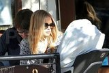 Rachel Zoe and Rodger Berman dined at Jack n' Jill in LA.