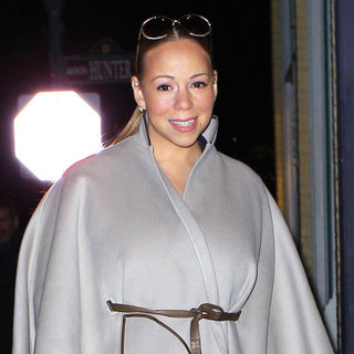 Mariah Carey Shops in Aspen Pictures