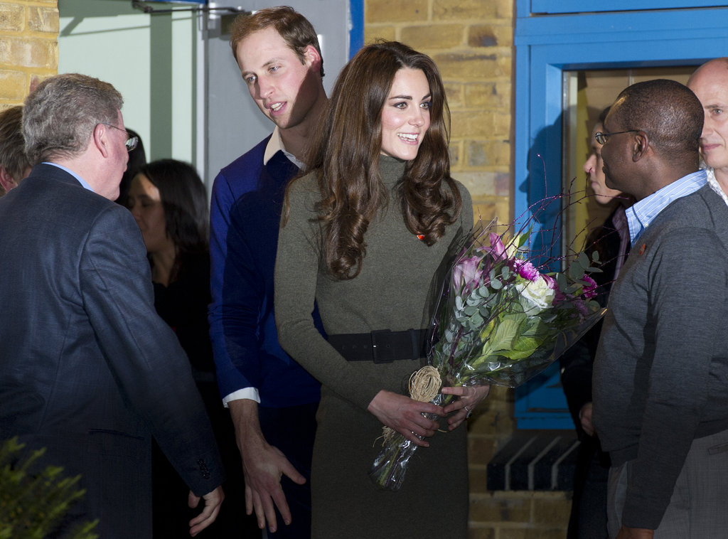 Prince William Brushes Some Dirt Off His Shoulder!