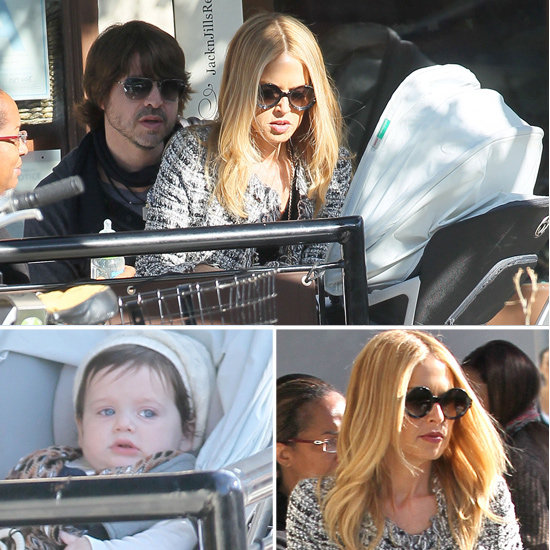 Rachel Zoe and Rodger Berman Treat Skyler to a Special Lunch
