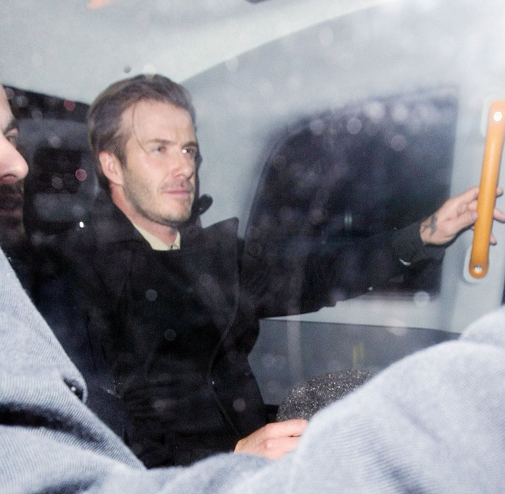 David Beckham headed home.